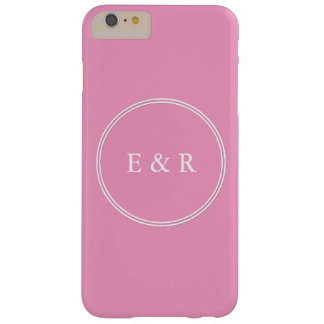 Bright Chalky Pastel Magenta Wedding Party Gifts Barely There iPhone 6 Plus Case