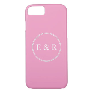 Bright Chalky Pastel Magenta Wedding Party Gifts iPhone 8/7 Case