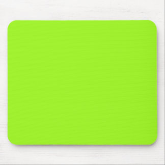 Bright Chartreuse Mousepad