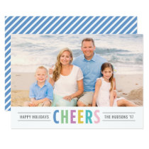 Bright Cheers | Happy Holidays Photo Card