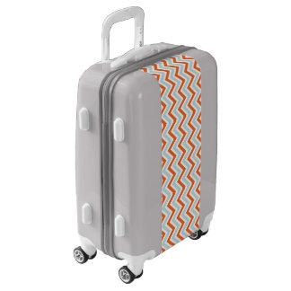 Bright Chevron Luggage