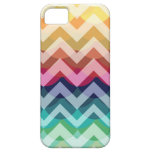 Bright Chevron Scallop Summer Pattern iPhone 5 iPhone 5 Cover