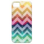 Bright Chevron Scallop Summer Pattern iPhone 5 iPhone SE/5/5s Case