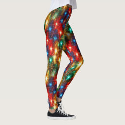Bright Christmas Lights Leggings