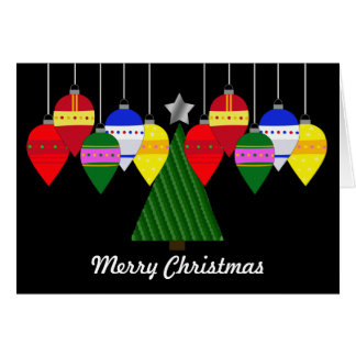 Bright Christmas with Tree Card