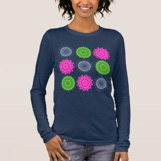 Bright Circular Patterns Long Sleeve T-Shirt
