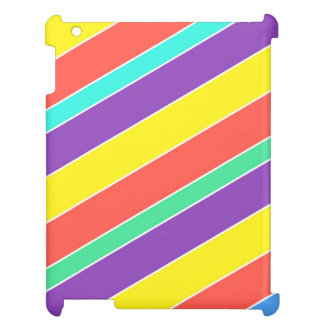 Bright Circus Color Stripes Case For The iPad
