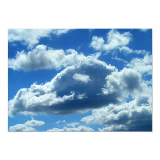 Bright Clouds Invitations
