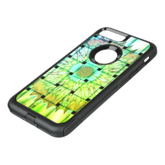 Bright Color Woven Mandala Floral Pattern design OtterBox Commuter iPhone 7 Plus Case