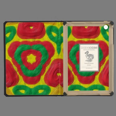 Bright colored abstract pattern iPad mini cover