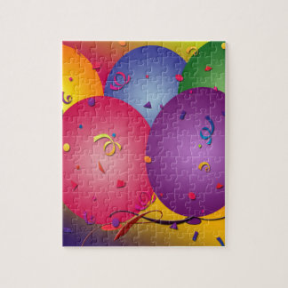 Bright colored balloons jigsaw puzzle