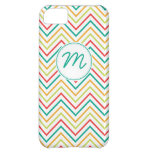 Bright Colored Chevron Pattern iPhone 5C Cases