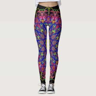 Bright colored legging workout pants