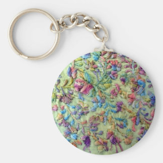 Bright colored mexican dress keychains