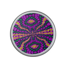 Bright colored pattern bluetooth speaker