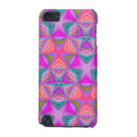 Bright colored pattern iPod touch (5th generation) case