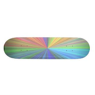 Bright Colored Skateboard