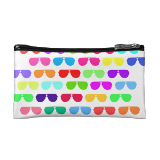 Bright Colored Summer Sunglasses Makeup Bag