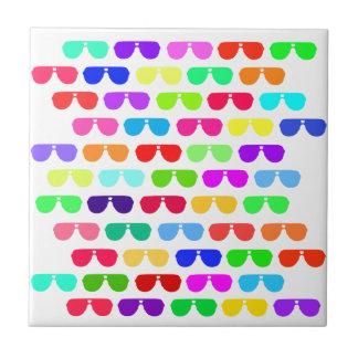 Bright Colored Summer Sunglasses Tile