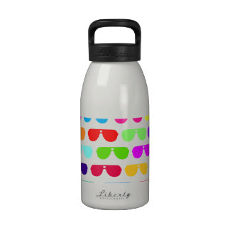 Bright Colored Summer Sunglasses Drinking Bottles