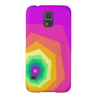 Bright Colored Tunnel Tees Graphic Design Galaxy S5 Cover