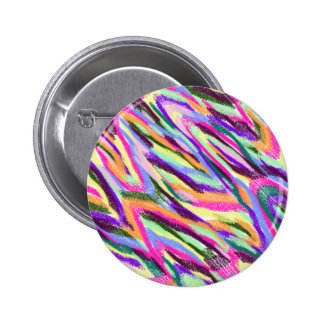 Bright Colorful Abstract Button