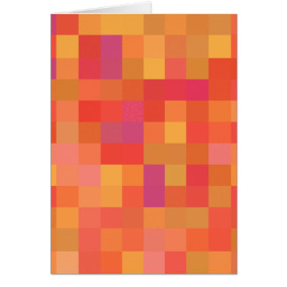 Bright Colorful Abstract design. Greeting Card