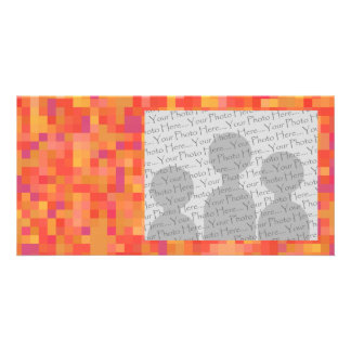 Bright Colorful Abstract design. Photo Card