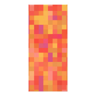 Bright Colorful Abstract design. Rack Card