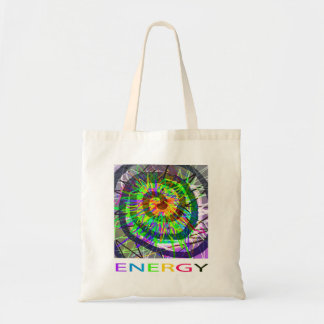 Bright colorful abstract image of ENERGY. Tote Bag