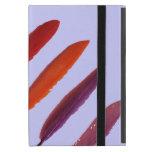 bright colorful bird feathers iPad mini cover
