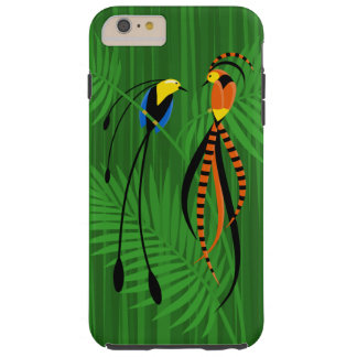 Bright Colorful Birds of Paradise Tough iPhone 6 Plus Case