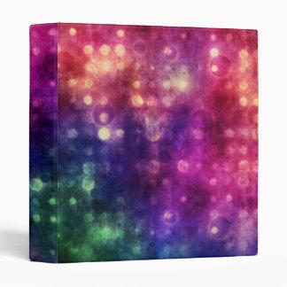 Bright Colorful Bokeh Background Binder