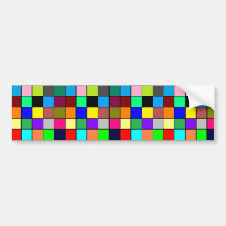 Bright, Colorful, Bold Bumper Sticker