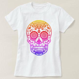 Bright Colorful Candy Sugar Skull Shirt
