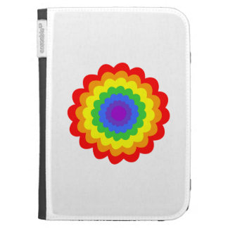 Bright colorful flower. cases for kindle