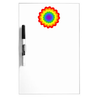 Bright colorful flower. dry erase boards