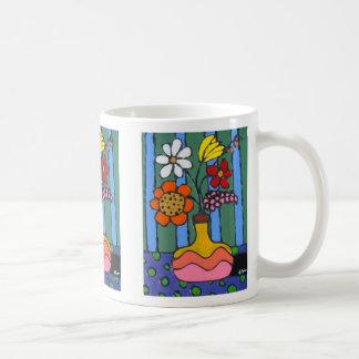 Bright Colorful Flowers Coffee Mug