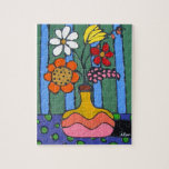 Bright Colorful Flowers Puzzles