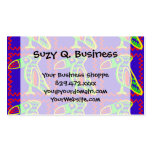 Bright Colorful Fun Toucan Tropical Bird Pattern Business Card Templates