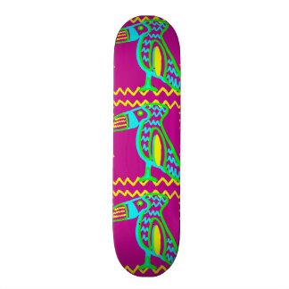 Bright Colorful Fun Toucan Tropical Bird Pattern Skate Deck