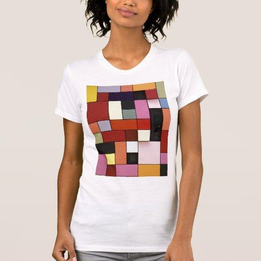Bright Colorful Geometric Pattern Shirt
