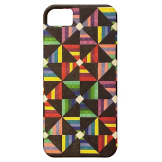 Bright, Colorful, Handmade Quilt Iphone Case