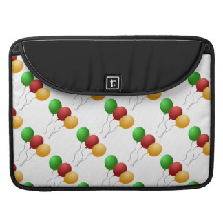 Bright Colorful Happy Birthday Balloons Sleeve For MacBook Pro