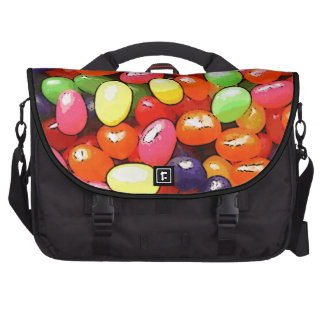 Bright colorful jelly beans commuter bag