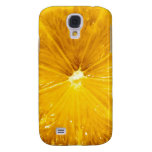 Bright Colorful Lemon Close Up Galaxy S4 Cover
