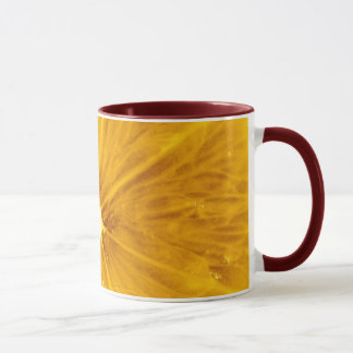 Bright Colorful Lemon Close Up Mug