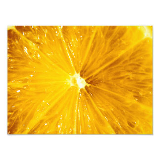 Bright Colorful Lemon Close Up Art Photo