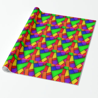 BRIGHT COLORFUL MODERN ART 112 FUN BACKGROUNDS TEM WRAPPING PAPER