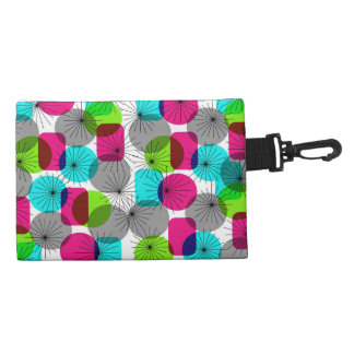 Bright Colorful Modern Geometric Pattern Accessories Bags